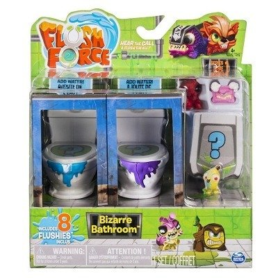 Figurki FLUSH FORCE Zestaw 8 figurek
